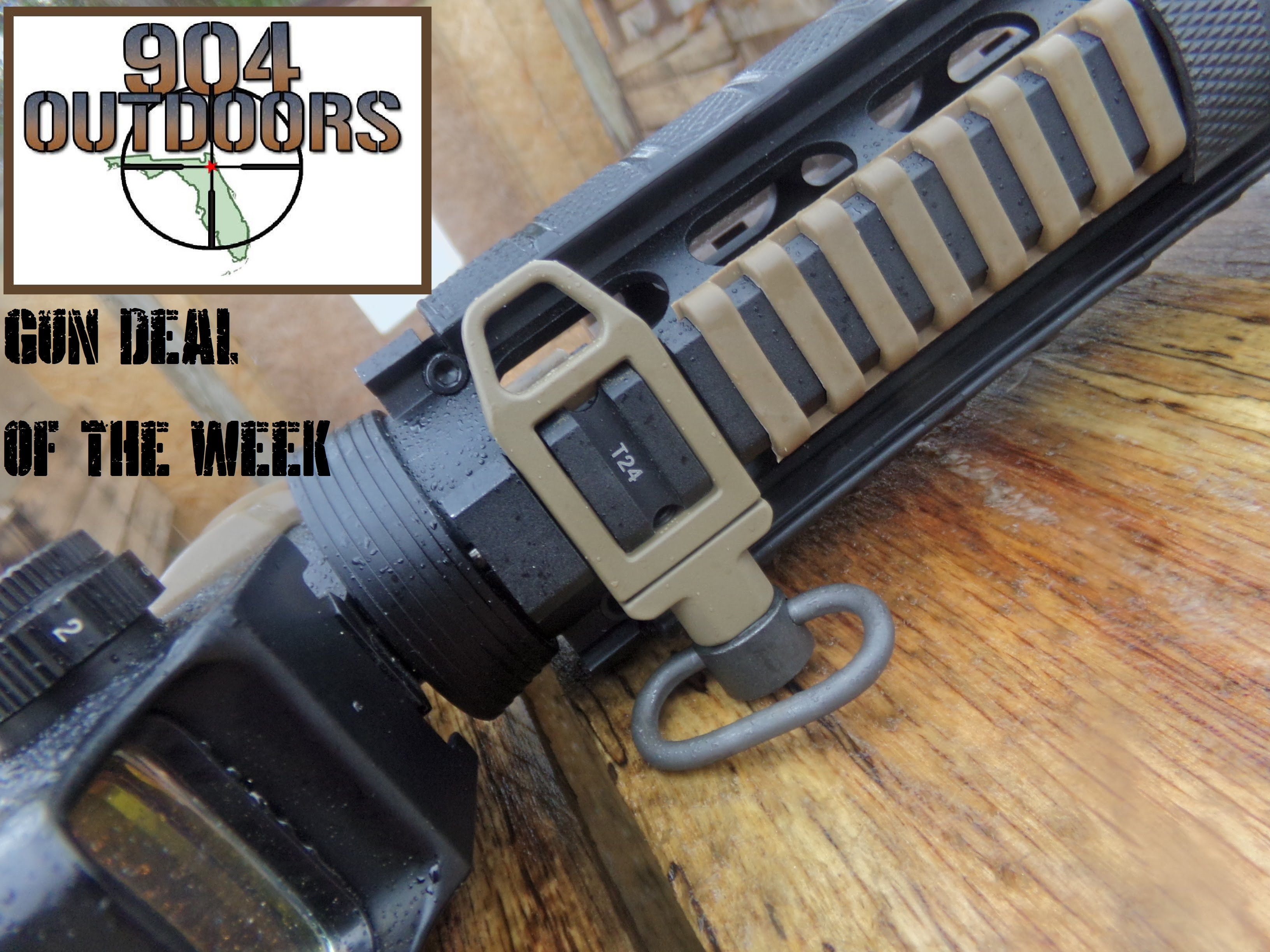 GreenBlob Outdoors AR15 Sling Attachment point from Amazon.com