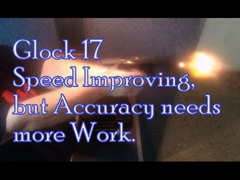Glock 17 Better for Speed, but Working on Accuracy