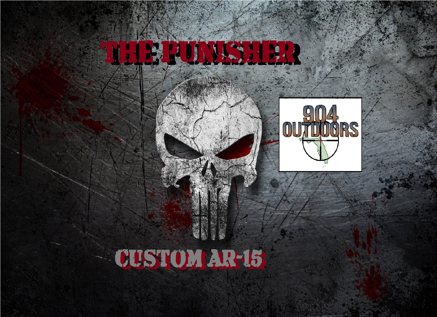 "The ""Punisher"" AR-15 - Our ""M4"" Copy build!"