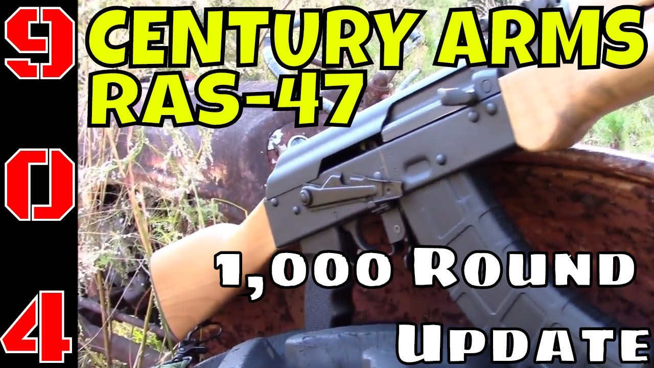 Century Arms RAS47: AK-47 Excellence or Crap? 1,000 Rounds Later !