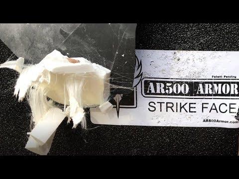 AR500 Armor Level IV Body Armor Demonstration!