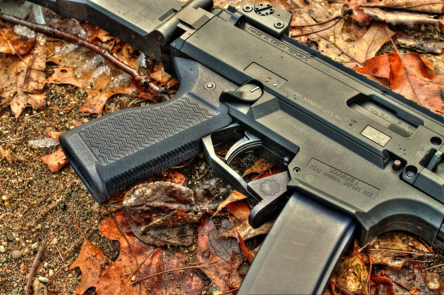 Gear Head Works Scorpion Evo 3 S1/A1 Paddle Style Magazine Release