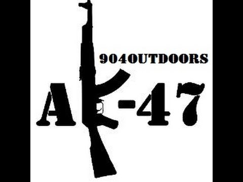 """904Outdoors- MR.""""Safety Off"""" Has fun with AK-47s!"""
