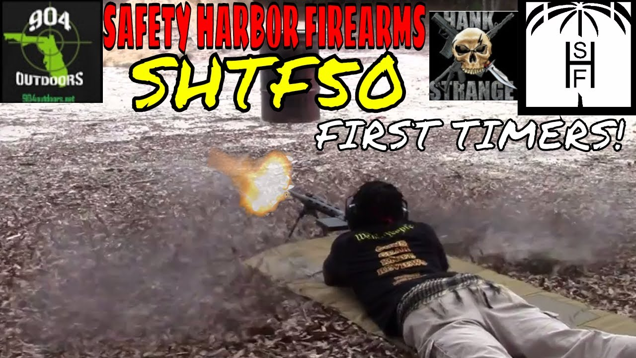 First Time Shooting a 50BMG - Some 50cal first timers! -SHTF 50