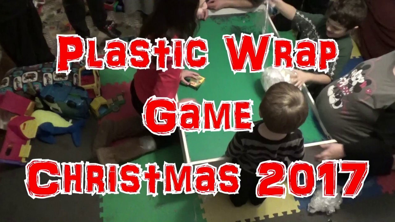 Plastic Wrap Game Christmas 2017