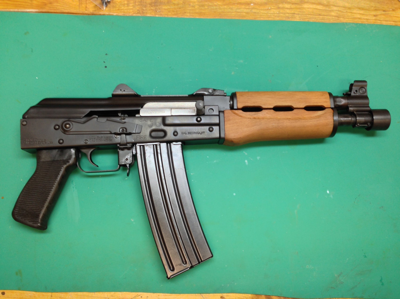 Zastava M85 PAP, 5.56 AK Pistol, Review