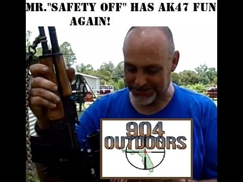AK-47 accuracy testing with Mr. Safety Off