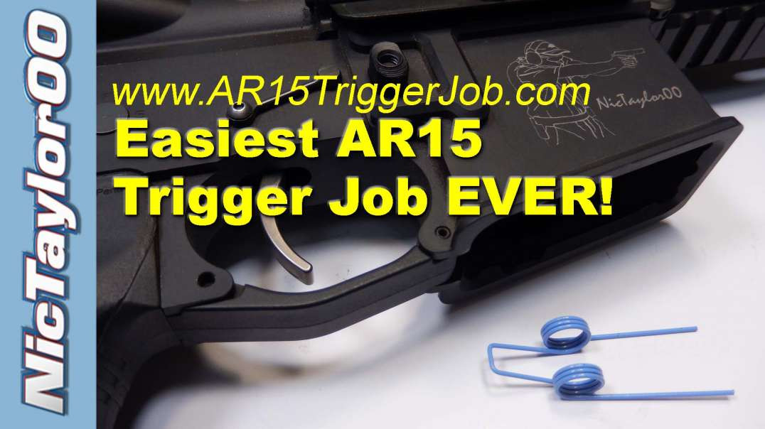 Easiest, Least Expensive AR15 Trigger Job Ever!