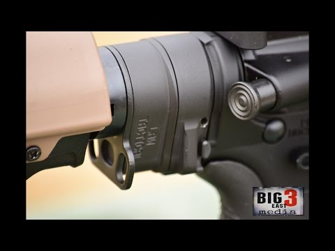 3 minutes with the Law Tactical Folding Stock Adaptor