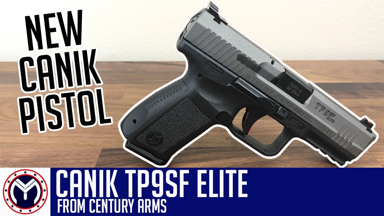 Canik TP9SF Elite   New Pistol   Musty Yeti