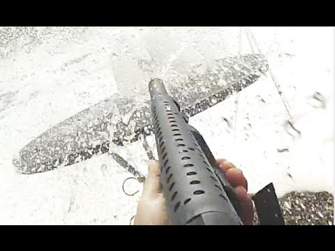 Will it Penetrate? Mossberg 590 vs 4 Jugs of Water