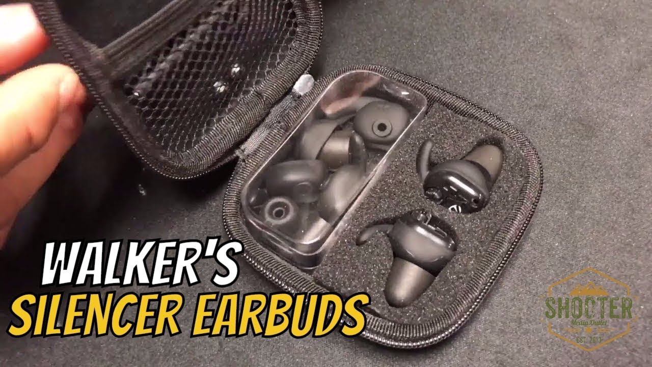 Walker's Silencer Earbuds (nrr 25db) Review