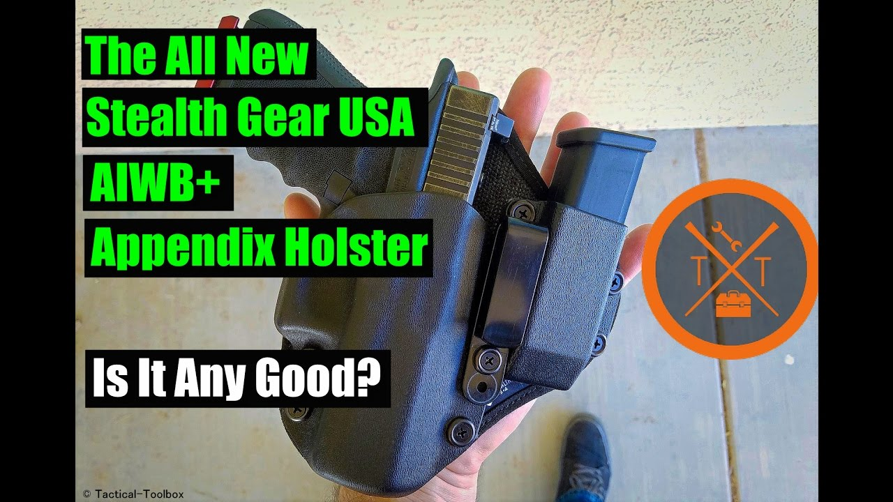 The All New Stealth Gear USA AIWB+ Appendix Carry Holster Review!