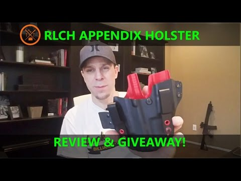 Redline Concealement Holsters: Review! Appendix Carry Holster