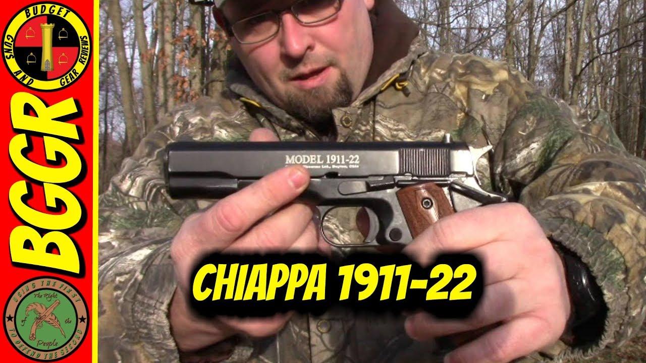 Chiappa 1911-22 range video- Fun little plinker!