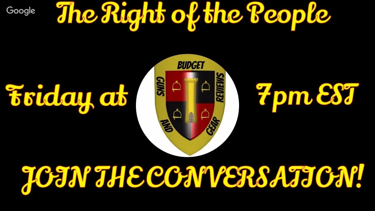 Don't miss it! The Right of the People starts TOMORROW!
