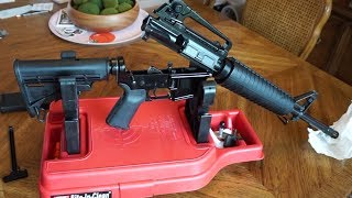 Palmetto State Armory Midlength AR-15, Blem Lower and the Bolt Carrier Group up Close.