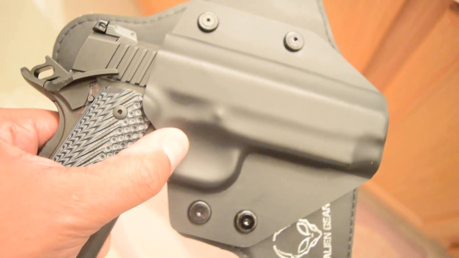 Rock Island Armory MS Tactical 1911 - holster shell fitment