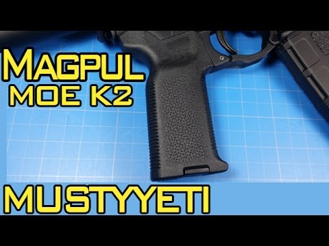 Magpul MOE K2 Grip :: AR Pistol Build pt.5 :: Musty Yeti