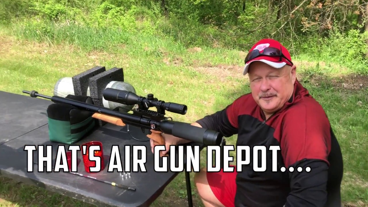AirGunDepot.com Long Ranger Challenge: Another Turek is in the Club with the AirForce Texan .357