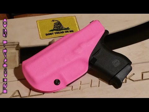 Revolver's Tickled Pink Ted Cori IWB Holster