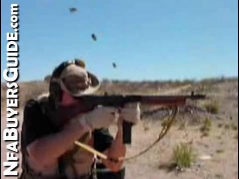 Shooting a Full Auto Tommy Gun