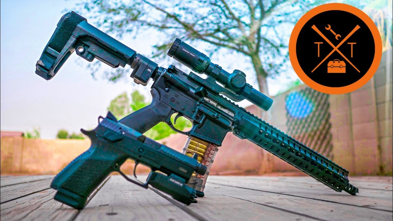 "AR Pistol Build ""PANTY DROPPER"" // PART 2! (COUPONS!)"