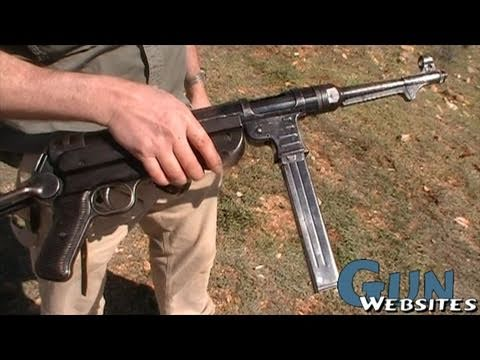 MP40 Machine Pistol