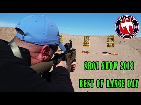 Ghost Tactical:  Shot Show 2018:  Best of Industry Day at the Range