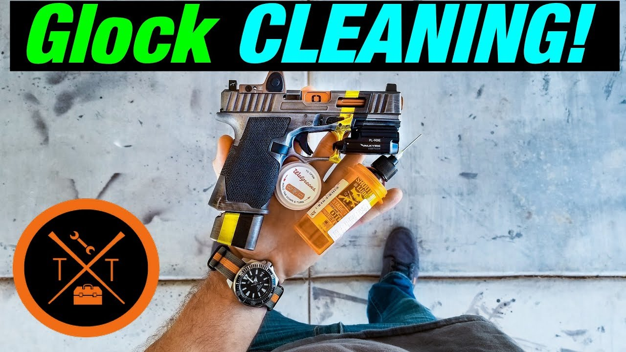 How to Clean a Glock // ADVICE Nobody Gave You..  (COUPONS)
