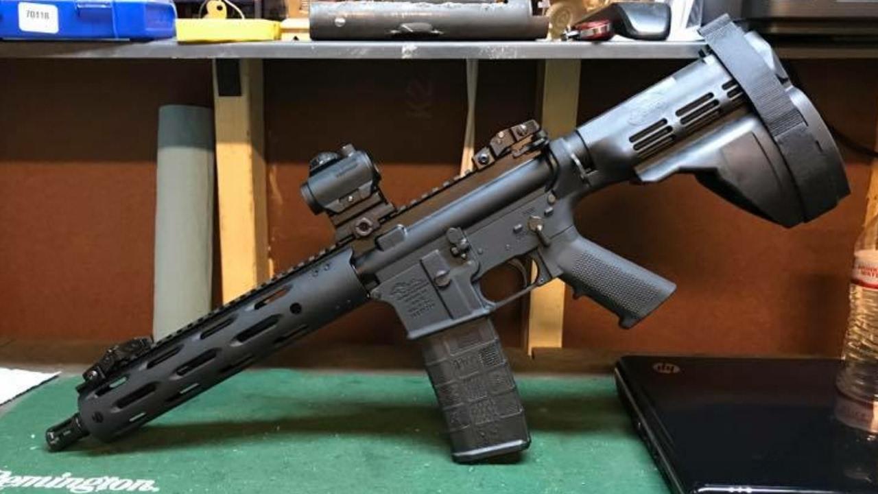 AR budget pistol build