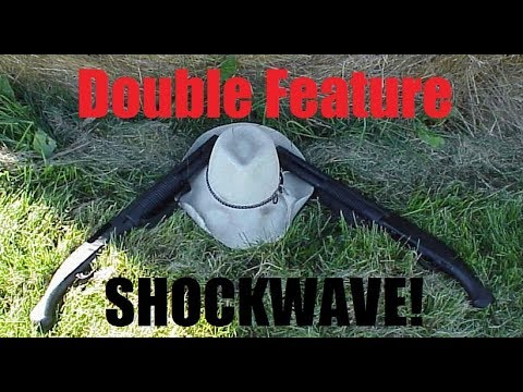 Slingin' a Mossberg Shockwave 590 12 Gauge