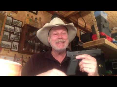Glock 17, Galco Avenger, Warren Tactical Sights and the Ranch