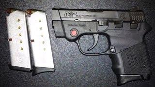 M&P Bodyguard 380 Range Test