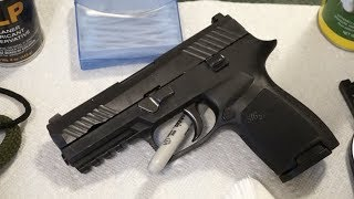 How to clean the Sig Sauer P320.