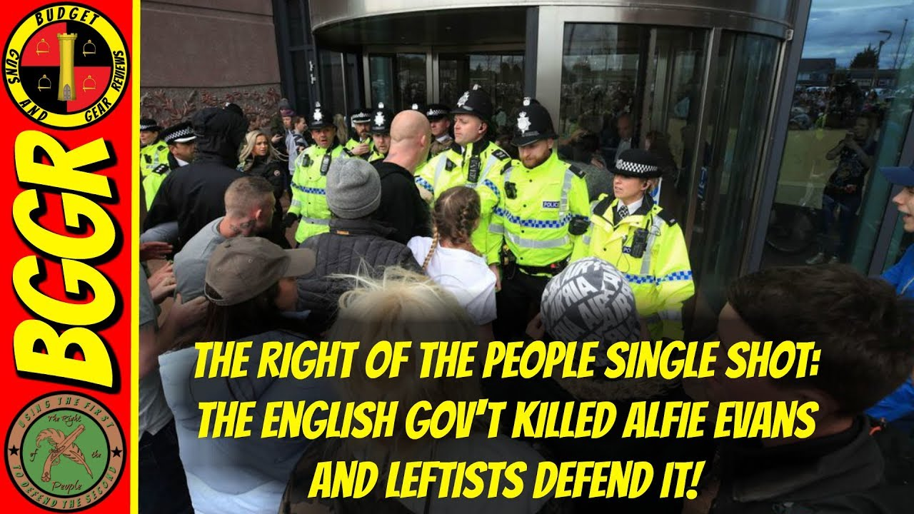 RotP 4-29-18; The English Government Killed Alfie Evans and Leftist Snowflakes Defend It!
