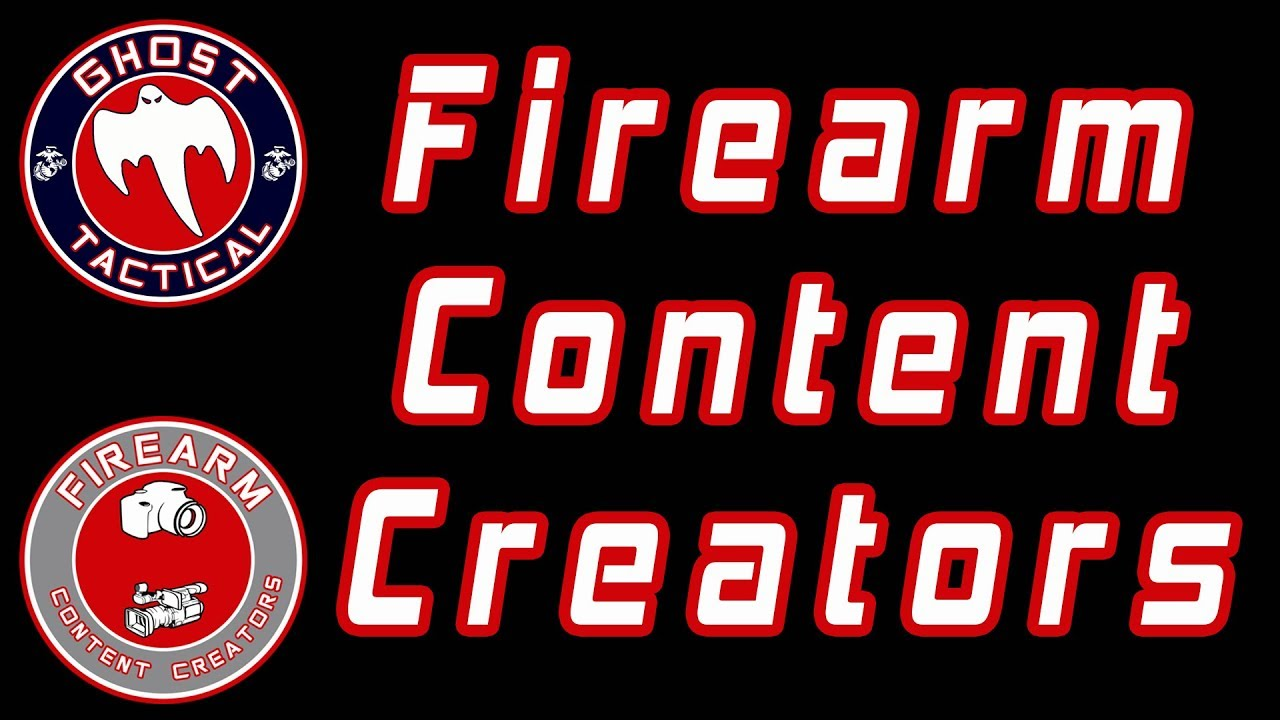 Firearm Content Creators:  Join us on Facebook