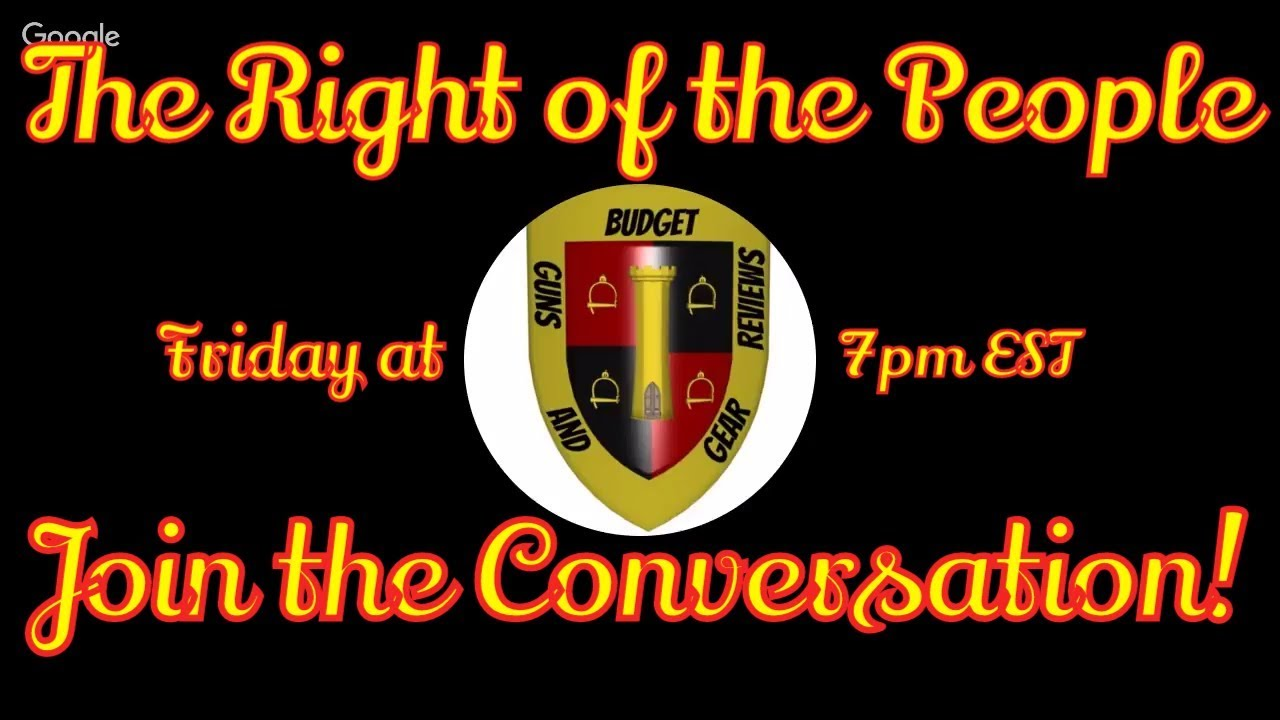 The Right of the People Ep 2- Friday at 7pm- Pelosi debunked, Delaware ban unconstitutional!