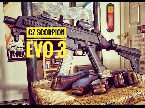 Channel intro and CZ SCORPION EVO 3 preview