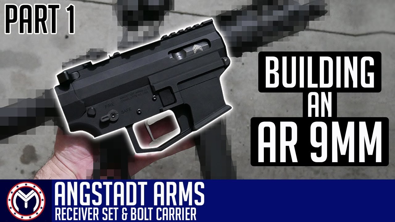 AR 9mm Pistol Build   Angstadt Arms   How to Build