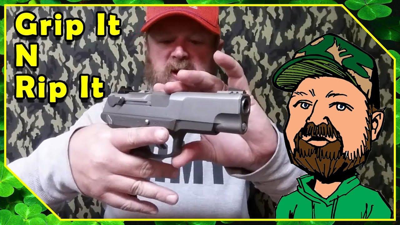 How To Grip A Pistol - Proper Grip On Handgun - CloverTac Basics