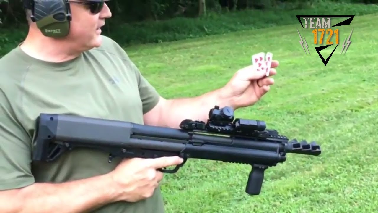 Plinking with the Kel-Tec KSG 12