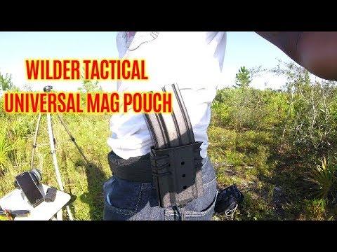 WILDER TACTICAL UNIVERSAL PISTOL/RIFLE POUCH