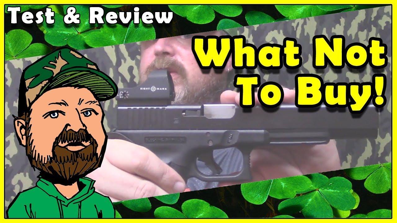Old Sightmark Reflex Sights SUCK! Mini Shot Review -  Sightmark Mini Shot Pro Spec Reflex Sight