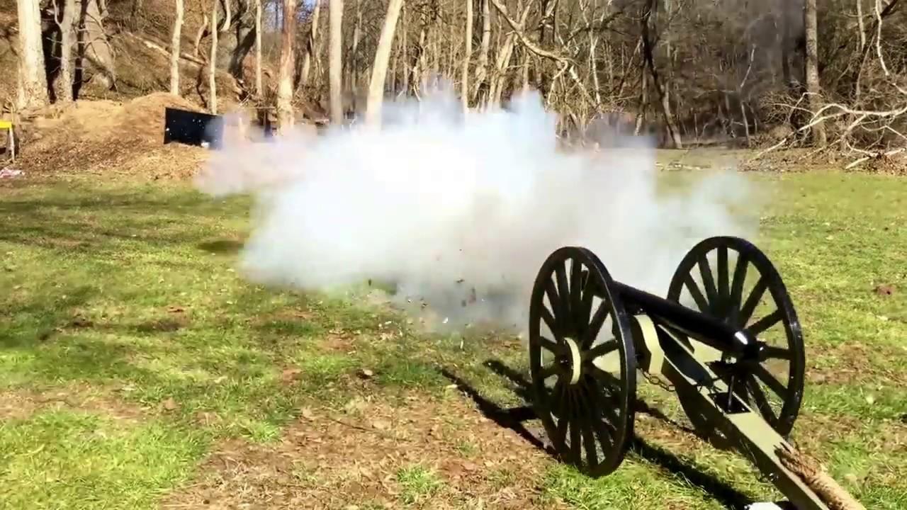 Golf Ball Cannon - Live Fire Test