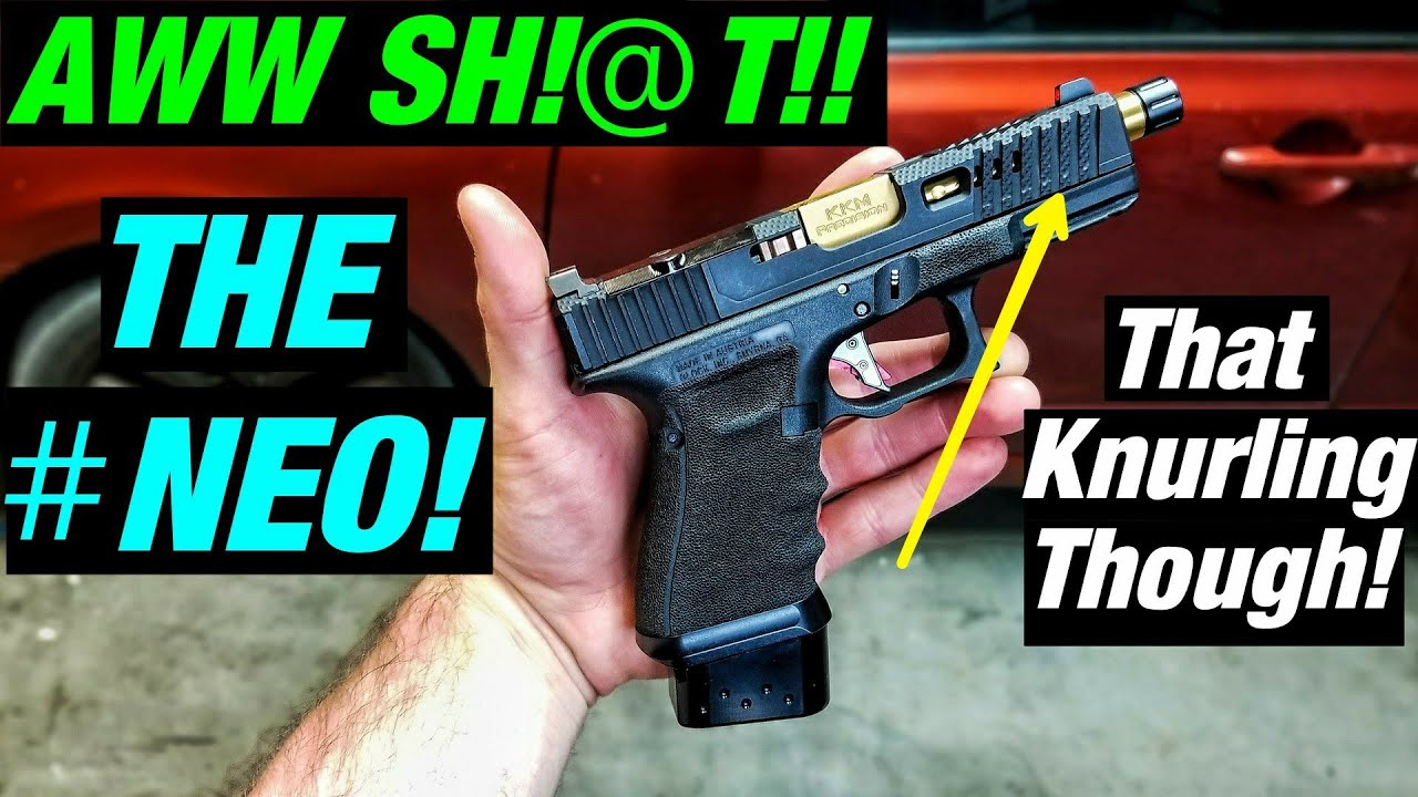 💥EPIC! Custom Glock Slide!⚡ Loki Tactical NEO Slide!!