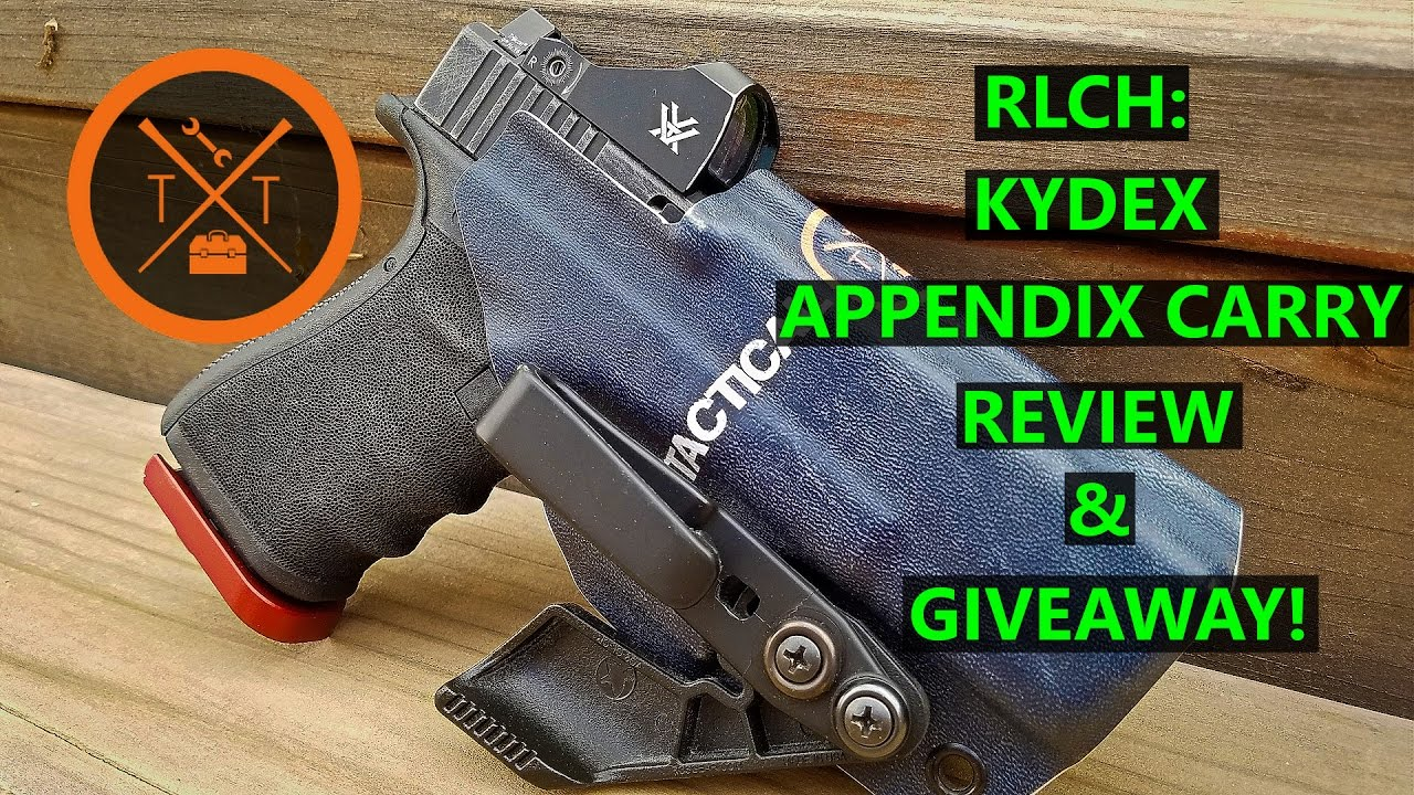 Redline Concealement Holsters: Review Appendix Carry Holster
