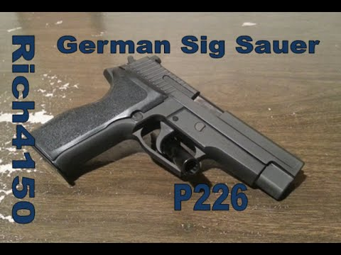 German Sig P226 First Impressions