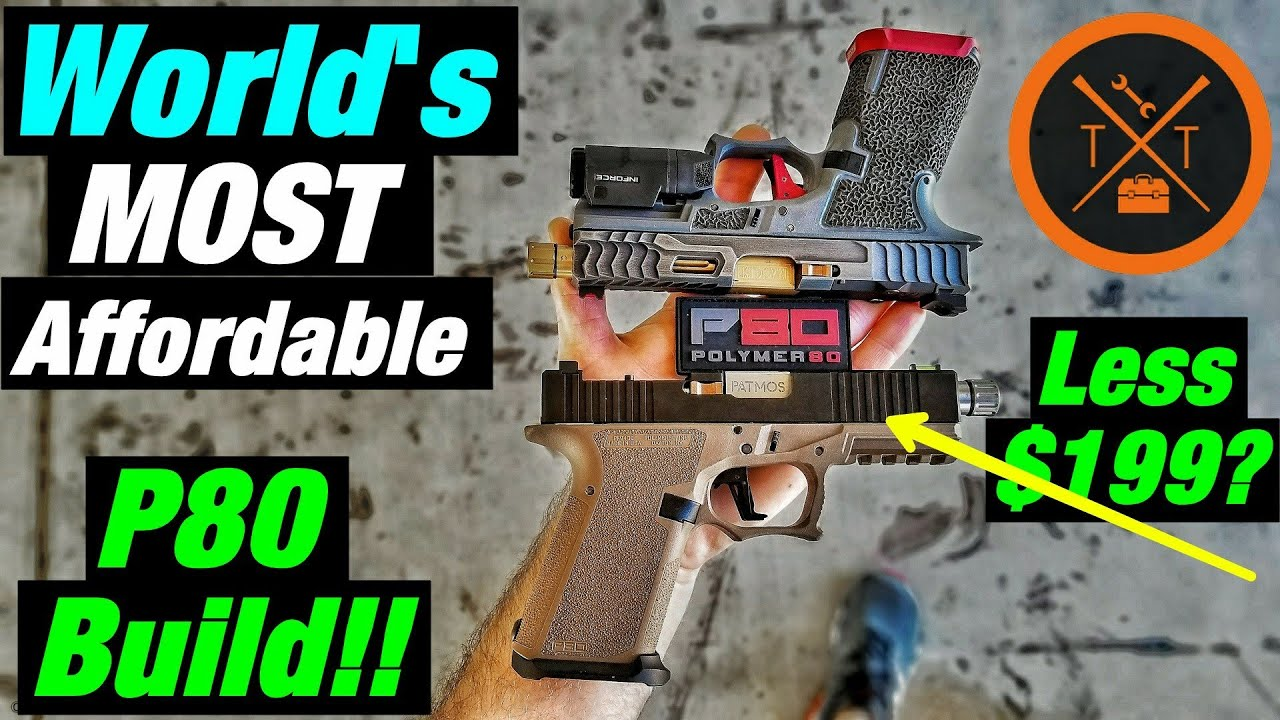 💥World's Most Affordable Custom Glock 19 😍Polymer80 PF940C
