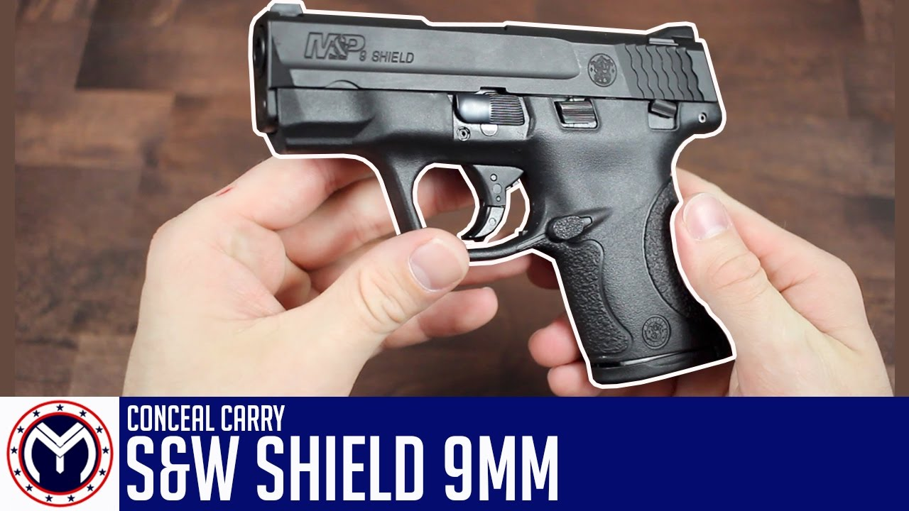 S&W Shield 9mm | New Conceal Carry | Musty Yeti